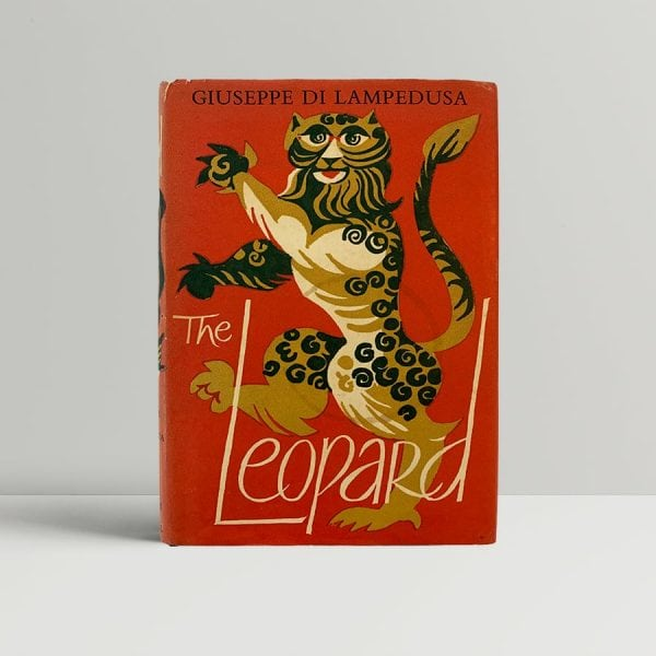 Di Lampedusa The Leopard First Edition 1