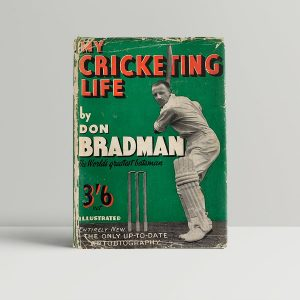 bradman don my cricketing life first uk edition 1938