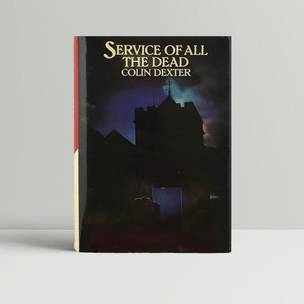 dexter colin service of all the dead 1st uk edition 1979 a superb copy 1