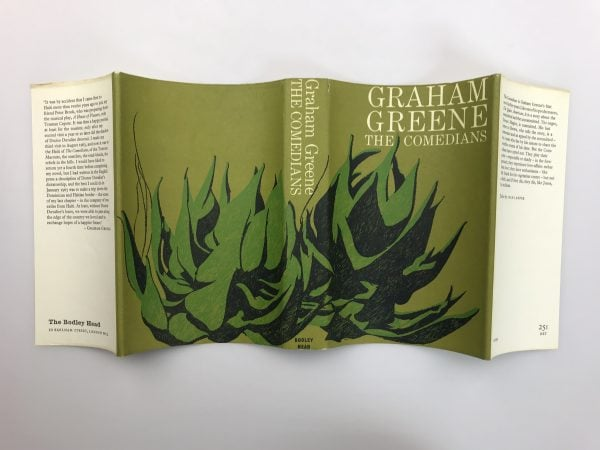 graham greene the comedians first edition4 1