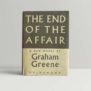 graham greene the end of the affair first edition1 2
