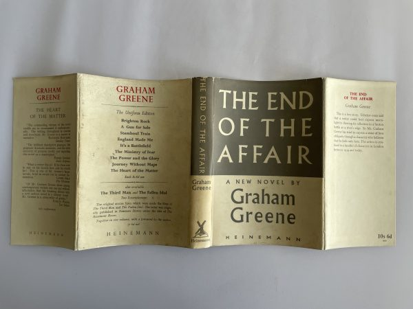 graham greene the end of the affair first edition4 2