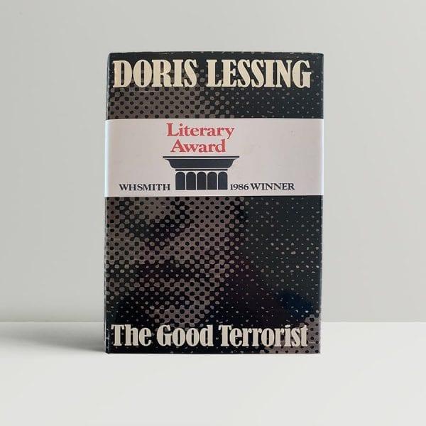 lessing doris the good terrorist first uk edition 1985 img 3465