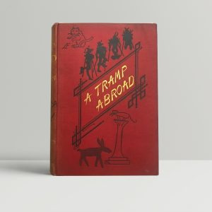 mark twain a tramp abroad first edition1
