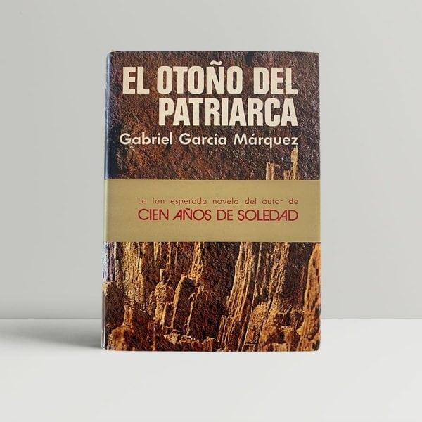 marquez gabriel garcia el otono del patriarca first edition 1975 img 5867