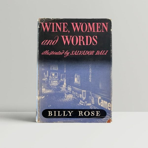 rose billy wine women and words first uk edition 1949 img 4849 2