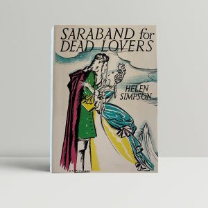 simpson helen saraband for dead lovers first uk edition 1935 img 4589