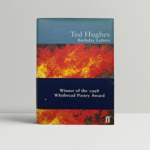 ted hughes birthday letters first ed with band1