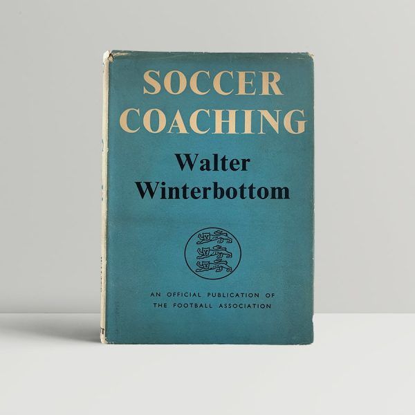 winterbottom walter soccer coaching 1st uk edition 1952 signed img 1003