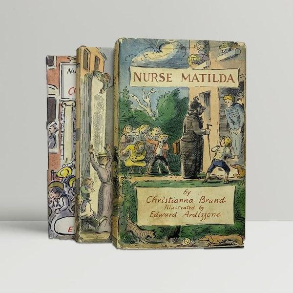 brand christianna nurse matilda trilogy first uk editions