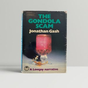 gash jonathan the gondola scam first uk edition 1984 signed in the month of publication img 4371