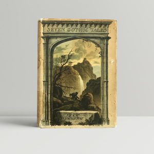 isak dinesen seven gothic tales first edition1