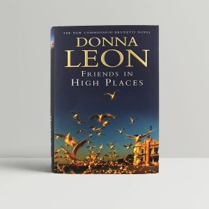 donna leon friends in high places first uk edition 2000 signed