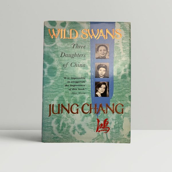 jung chang wild swans first uk edition 1991 signed