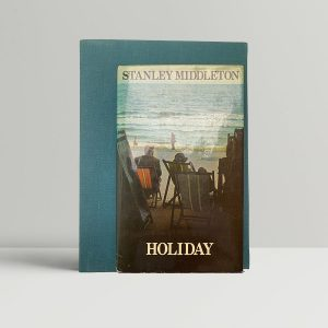stanley middleton holiday first uk edition special deluxe edition