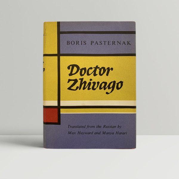 Pasternak Doctor Zhivago First Edition