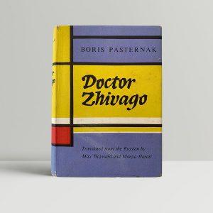 boris pasternak doctor zhivago first uk edition 1958
