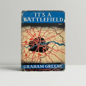 graham greene its a battlefield first uk edition 1934
