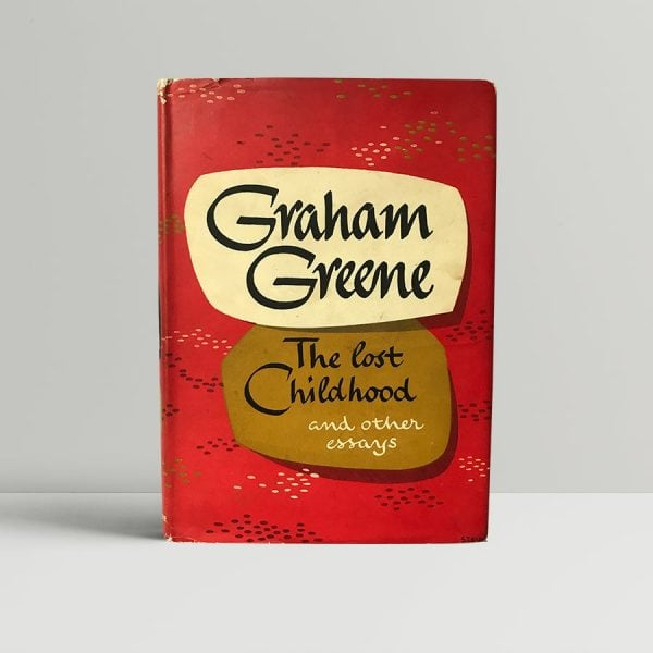 graham greene the lost childhood first edition1
