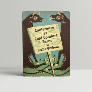 stella gibbons conference at cold comfort farm first uk edition 1949