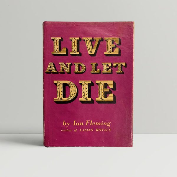 Ian Fleming Live And Let Die First Edition