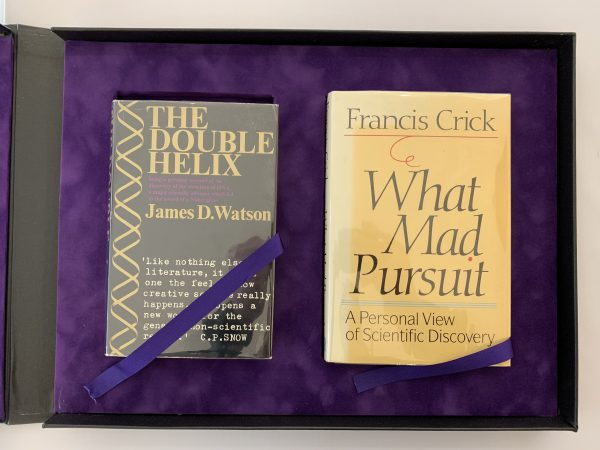 James Watson Francis Crick DNA First Editions Signed