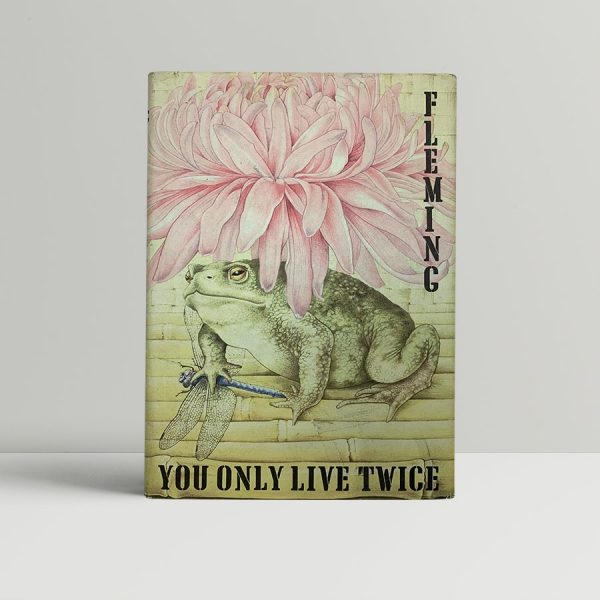 ian fleming you only live twice first uk edition 1964