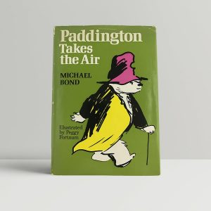 michael bond paddington takes the air uk edition signed
