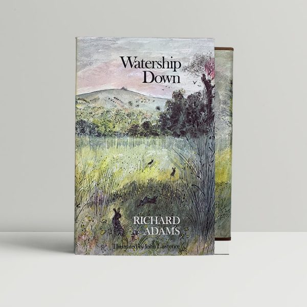 richard adams watership down first uk illustrated edition 1976 signed
