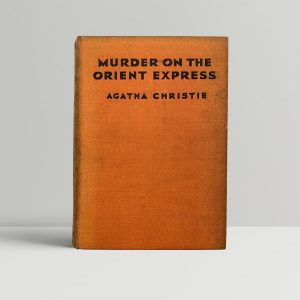Agatha Christie Murder On The Orient Express First Edition