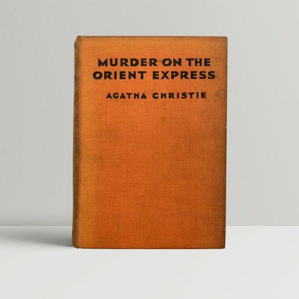 Agatha Christie Murder On The Orient Express First Edition