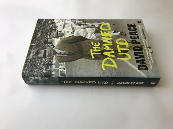 david peace the damed united signed edition4