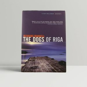 mankell henning the dogs of riga first uk edition 2001