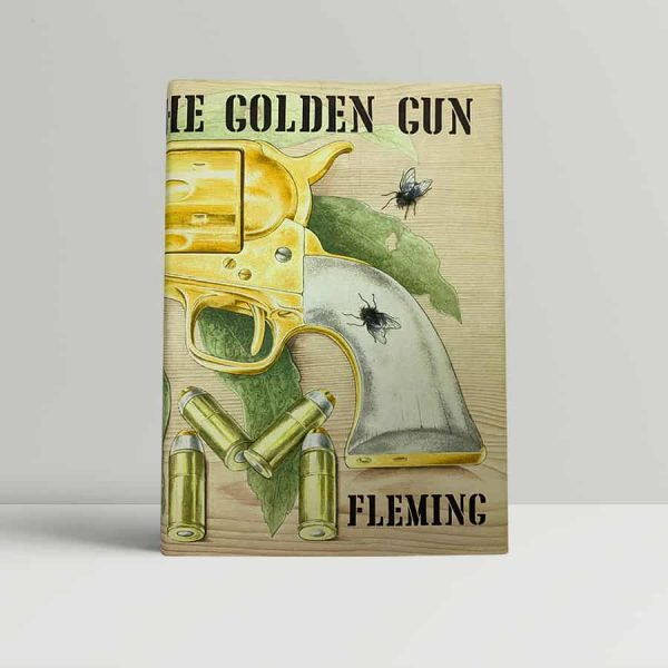ian fleming the man with the golden gun first uk edition 1965