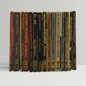 ian fleming first edition paperback collection1