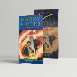 j k rowling harry potter and the half blood prince first uk edition 2005 bag