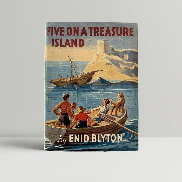 Blyton Five On A Treasure Island First Edition