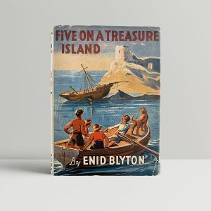 enid blyton five on a treasure island first uk edition 1942