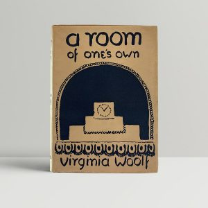 Woolf A Room Of Ones Own First Edition