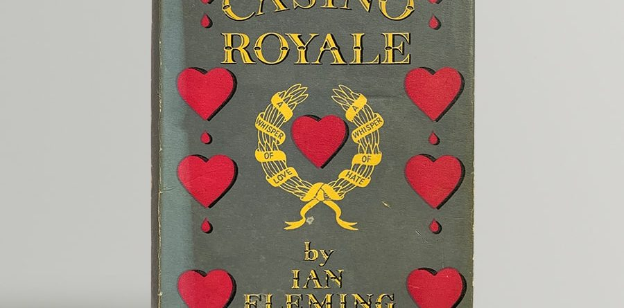 Ian Fleming Casino Royale First Edition 1953 James Bond