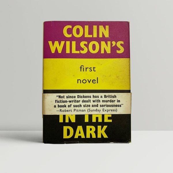colin wilson ritual in the dark first uk edition 1960 band