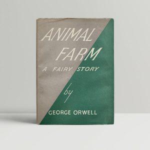 george orwell animal farm first uk edition 1945