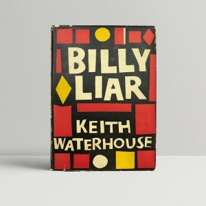 keith waterhouse billy liar first uk edition 1959