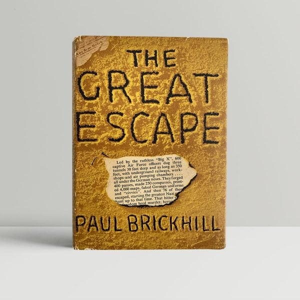 paul brickhill the great escape first uk edition 1951