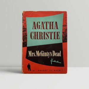 Agatha Christie Mrs McGintys Dead First Edition