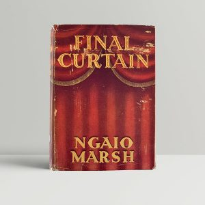 ngaio marsh final curtain first uk edition 1947 img 8006