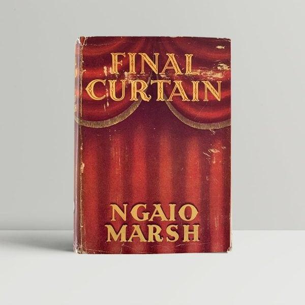 ngaio marsh final curtain first uk edition 1947 img 8006