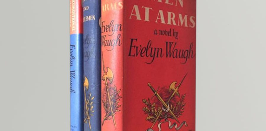 evelyn waugh the sword of honour trilogy first uk editions 1952 55 1