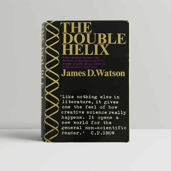 james d watson the double helix first edition 1968