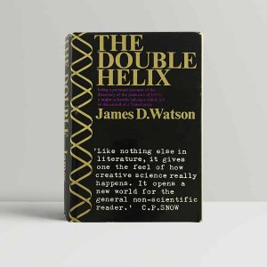 james d watson the double helix first uk edition 1968